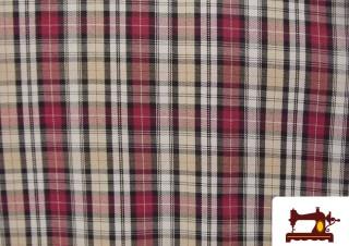 Tissu de Viyella pour Chemises à Carreaux