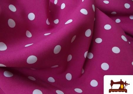 Tissu pour Flamenco Couleur Rose Fuchsia