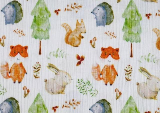 Acheter en ligne copy of Tissu en Mousseline Imprimé avec Tentes