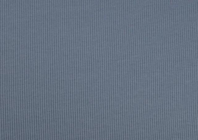 Tissu en Tricot Côtelé couleur Bleu