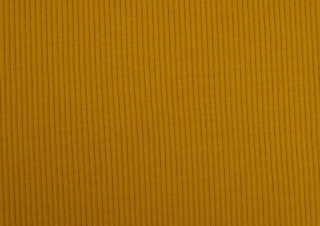 Vente en ligne de Tissu en Tricot Côtelé couleur Moutarde