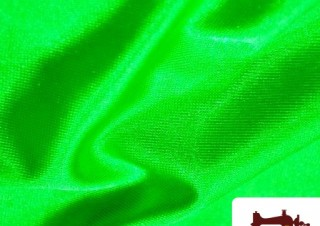 Tissu en Lycra Vert Fluorescent