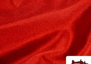 Tissu en Lycra Couleur Rouge