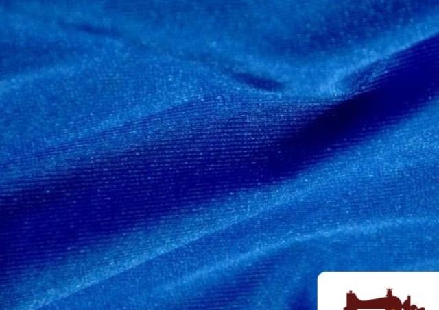 Tissu en Lycra Couleur Bleu Électrique