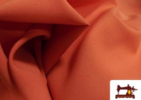 Tissu en Lycra Couleur Orange