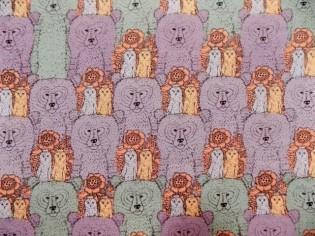 Tissu en Coton avec Dessins Infantiles