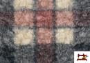 Vente de Tissu en Boucle Curly à Carreaux Classiques