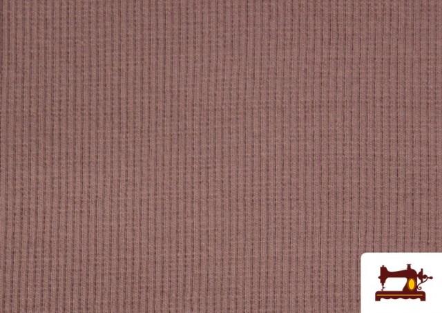 Vente en ligne de Tissu de Poing Canalé couleur Rose pâle