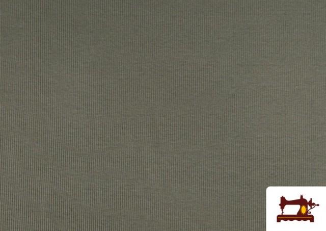 Acheter Tissu de Poing Canalé couleur Gris