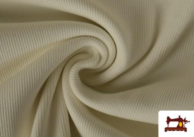 Tissu de Poing Canalé