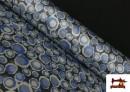 Vente en ligne de Tissu en Crêpe Satiné Géométrique de Couleurs couleur Rose pâle