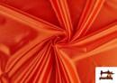 Tissu Satiné avec Mousse couleur Orange