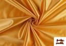 Tissu Satiné avec Mousse couleur Doré
