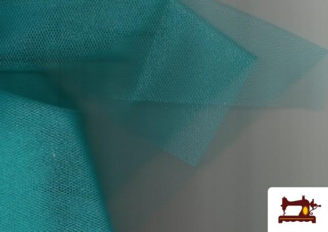 Acheter en ligne Tissu en Tulle pour Évènements et Décoration couleur Vert mer