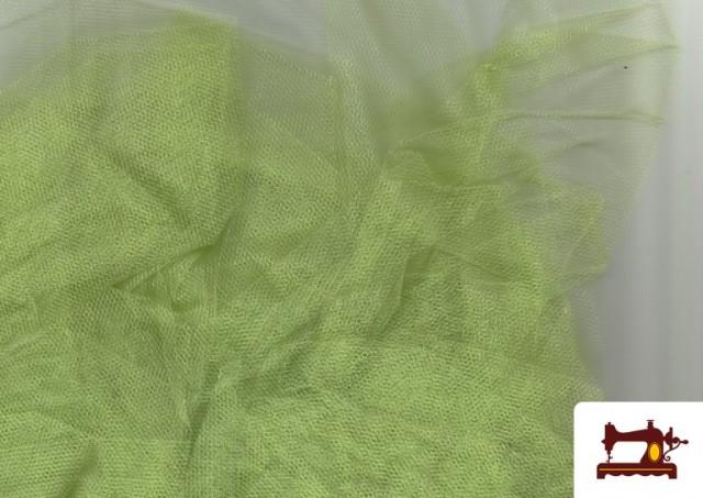 Vente de Tissu en Tulle pour Évènements et Décoration couleur Vert pistache