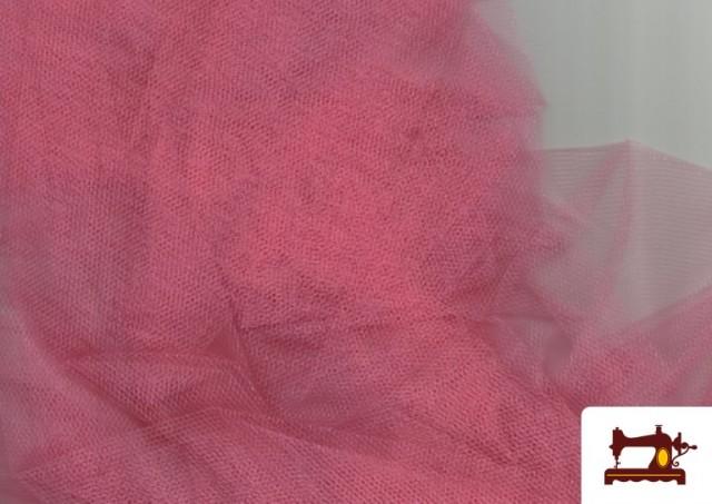 Vente de Tissu en Tulle pour Évènements et Décoration couleur Corail