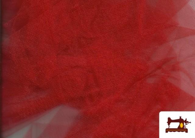 Acheter Tissu en Tulle pour Évènements et Décoration couleur Rouge