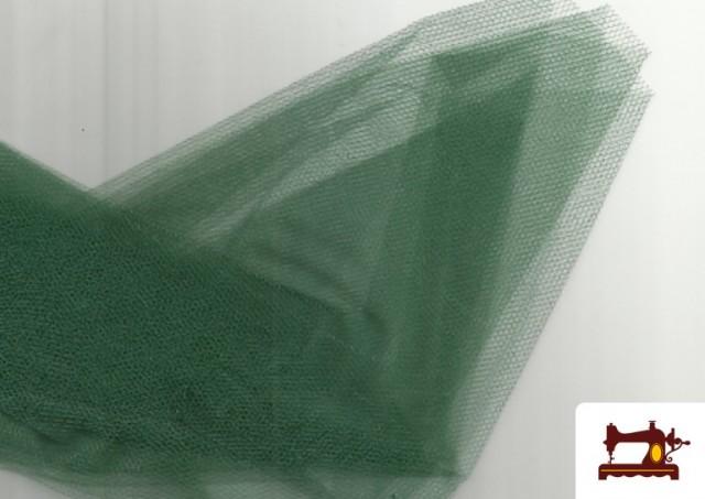 Vente de Tissu en Tulle pour Évènements et Décoration couleur Vert Bouteille