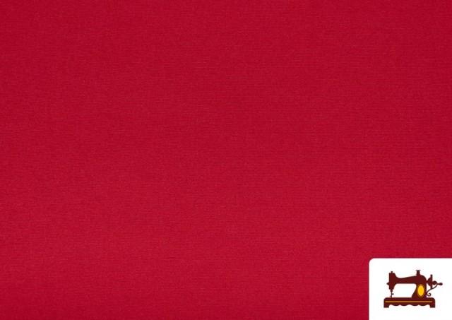 Tissu en Stretch Économique de Couleurs couleur Rouge