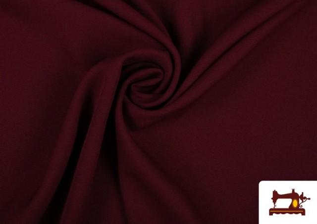 Acheter Tissu en Stretch Économique de Couleurs couleur Grenat