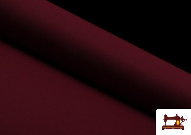 Vente de Tissu en Stretch Économique de Couleurs couleur Grenat