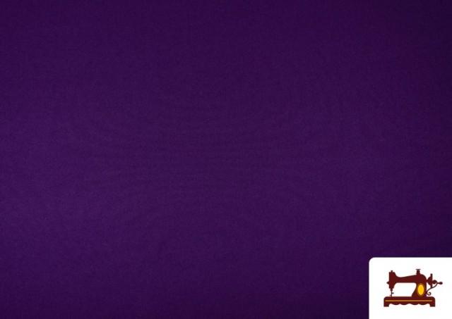 Acheter en ligne Tissu en Stretch Économique de Couleurs couleur Violet foncé