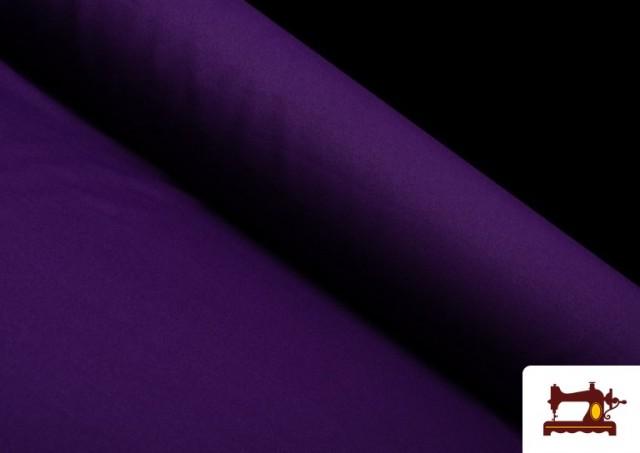 Tissu en Stretch Économique de Couleurs couleur Violet foncé