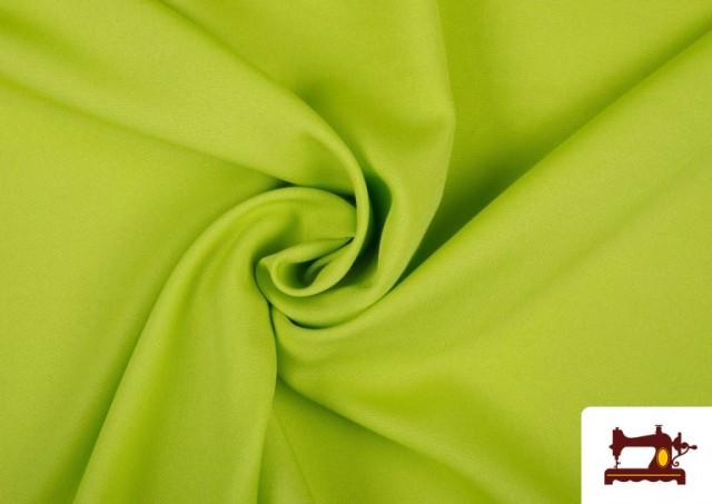 Acheter en ligne Tissu en Stretch Économique de Couleurs couleur Vert pistache