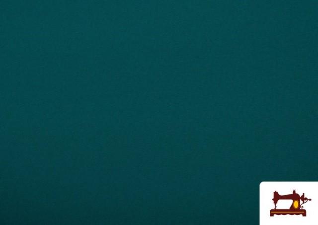 Vente en ligne de Tissu en Stretch Économique de Couleurs couleur Vert Pétrole