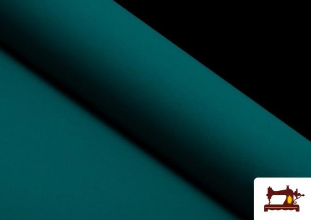 Tissu en Stretch Économique de Couleurs couleur Vert Pétrole