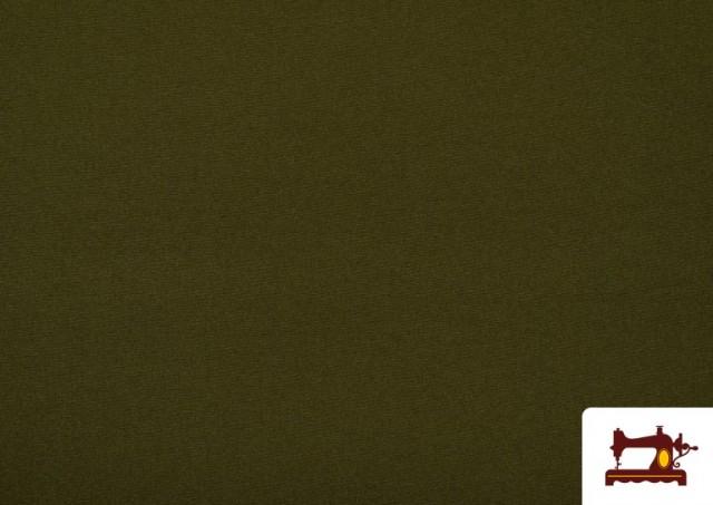 Tissu en Stretch Économique de Couleurs couleur Kaki