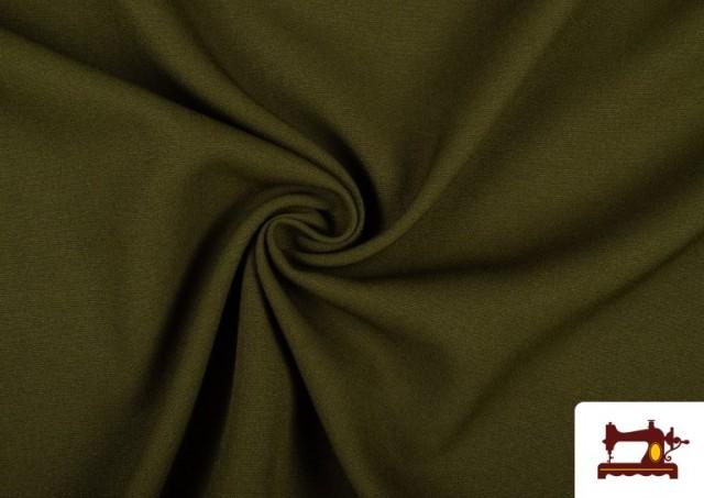 Acheter Tissu en Stretch Économique de Couleurs couleur Kaki