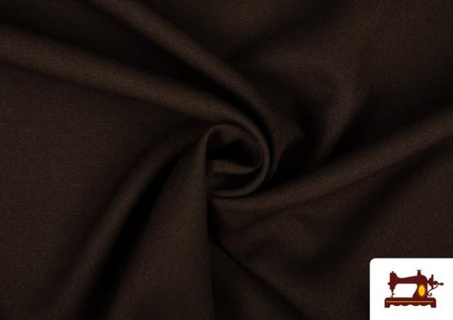 Tissu en Stretch Économique de Couleurs couleur Brun