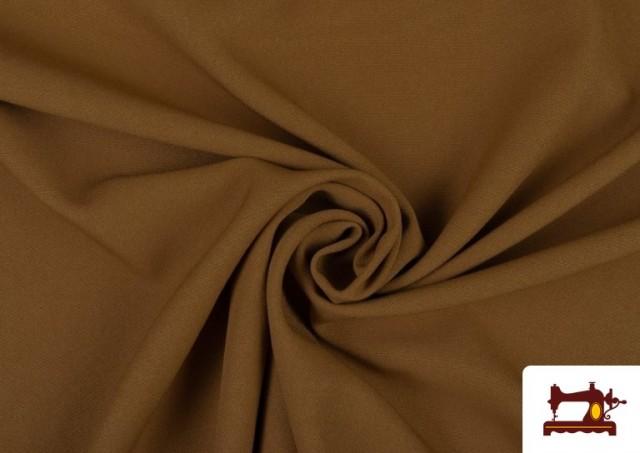 Acheter en ligne Tissu en Stretch Économique de Couleurs couleur Bronzé