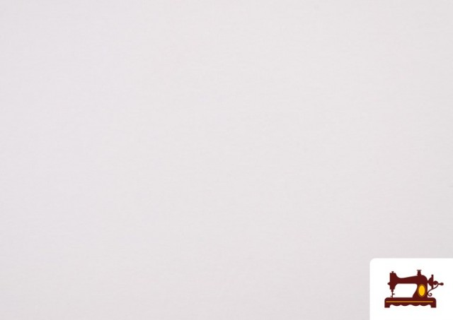 Acheter Tissu en Stretch Économique de Couleurs couleur Blanc