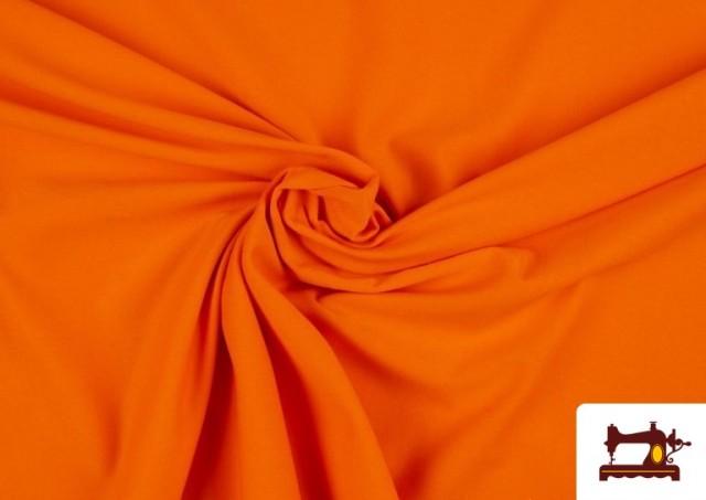 Acheter Tissu en Stretch Économique de Couleurs couleur Orange