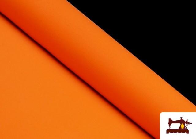 Acheter en ligne Tissu en Stretch Économique de Couleurs couleur Orange