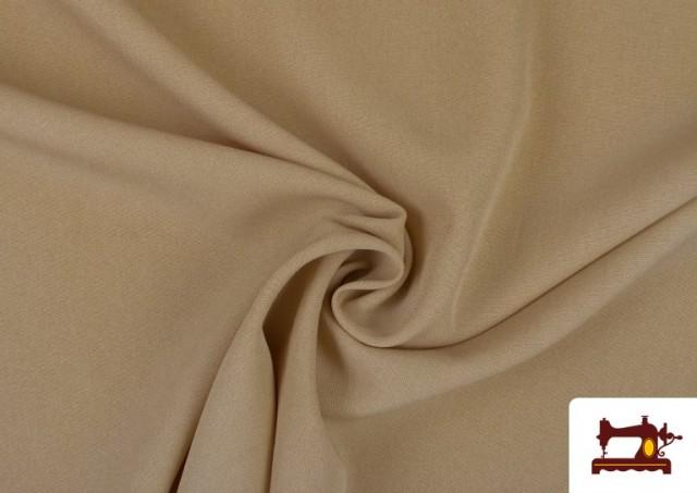 Tissu en Stretch Économique de Couleurs couleur Sable