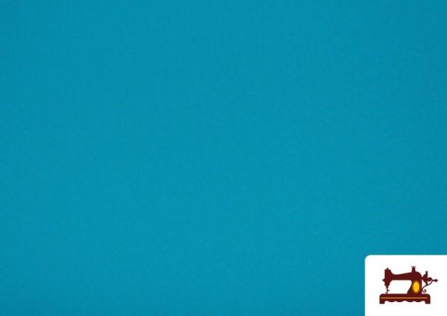 Vente en ligne de Tissu en Stretch Économique de Couleurs couleur Bleu turquoise
