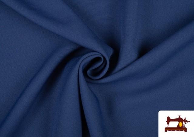 Vente de Tissu en Stretch Économique de Couleurs couleur Bleu Cobalt