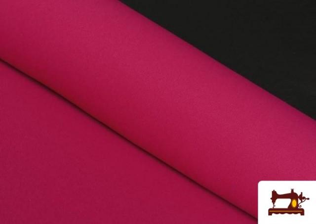 Tissu en Stretch Économique de Couleurs couleur Fuchsia