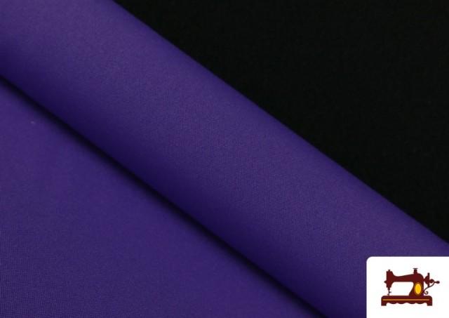 Acheter en ligne Tissu en Stretch Économique de Couleurs couleur Violet