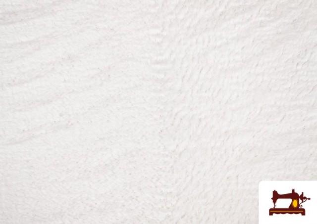 Acheter Tissu en Coraline de Couleurs couleur Blanc