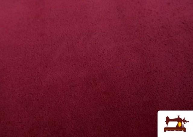 Acheter Tissu en Coraline de Couleurs couleur Grenat