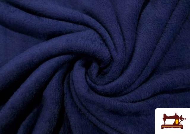 Vente en ligne de Tissu en Coraline de Couleurs couleur Bleu Marine