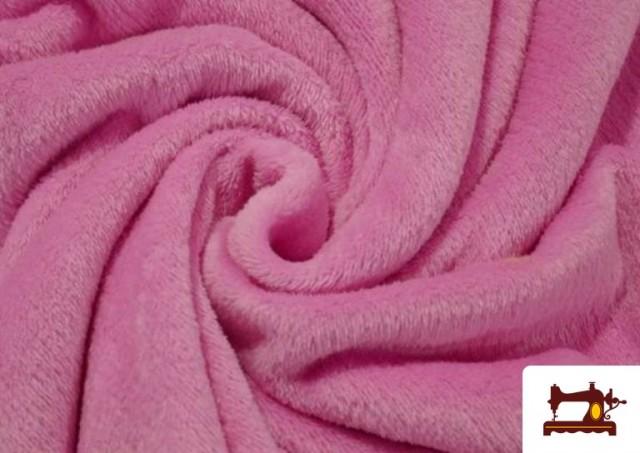 Tissu en Coraline de Couleurs couleur Rose pâle