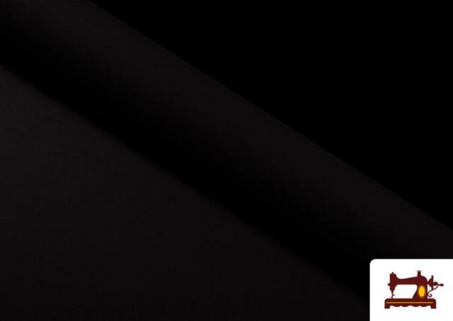 Vente de Tissu Économique Stretch Noir