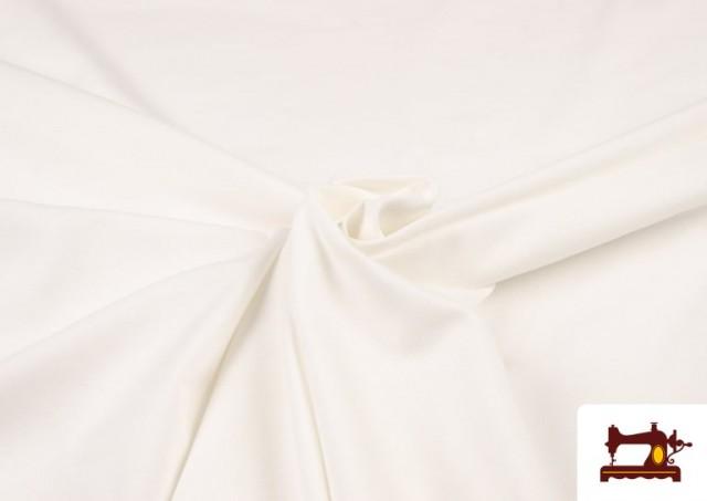 Tissu de Tee-Shirt de Couleurs couleur Écru