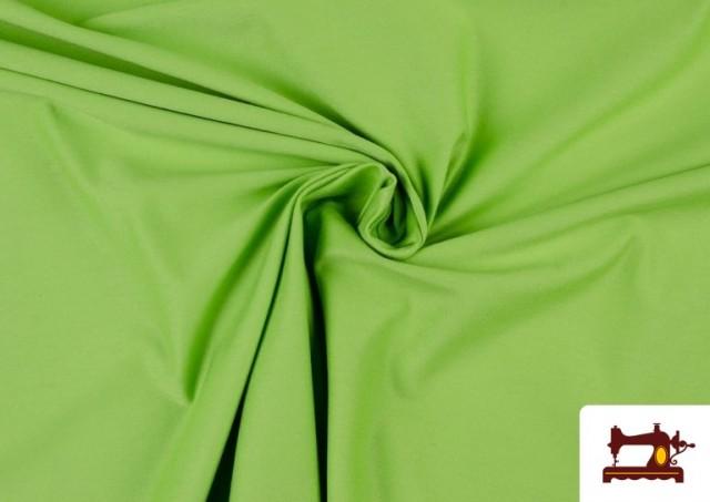 Acheter Tissu de Tee-Shirt de Couleurs couleur Vert pistache