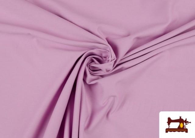 Vente de Tissu de Tee-Shirt de Couleurs couleur Mauve